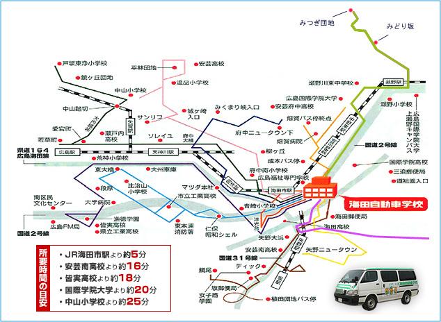 バス路線マップ